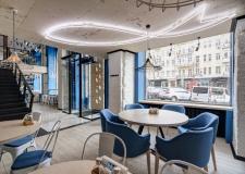 Свежий , модный интерьер , удобное расположение в центре , среднее Обслуживание , слабая кухня - фото (542-27528)