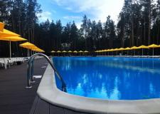 Место с огромным бассейном , приятным воздухом и волшебной загородней территорией ) - фото (555-27575)