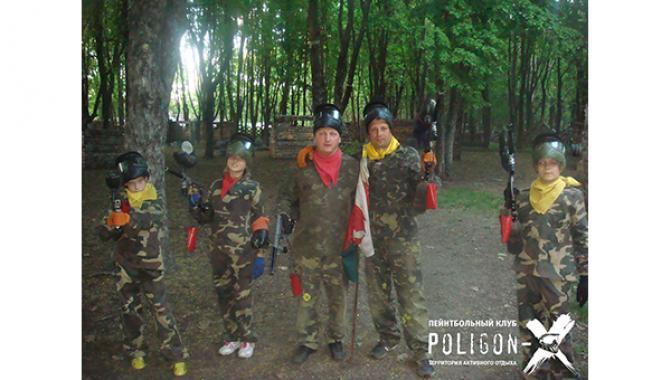 Пейнтбольный клуб Полигон-Х - фото (1323-7314)